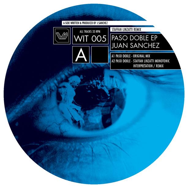 Paso Doble EP van Juan Sanchez (enkel label) voor het WIT label