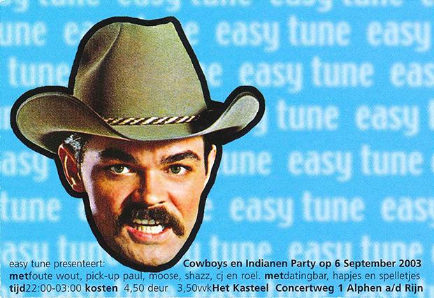 Easy Tune Cowboys en Indianen 6 september 2003 Voorzijde
