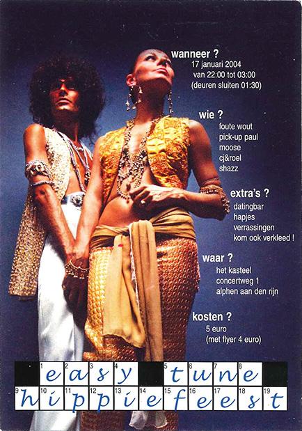 Easy Tune Hippiefeest 17 januari 2004 Voorzijde