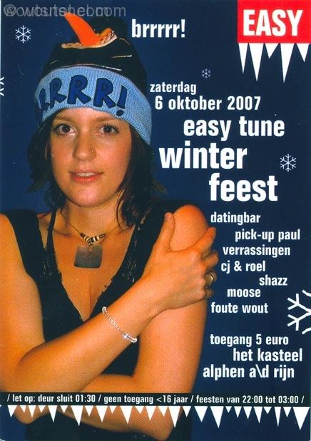 Easy Tune Winterfeest 6 Oktober 2007
