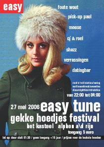 Easy Tune Gekke Hoedjes Festival 27 mei 2006 Voorzijde