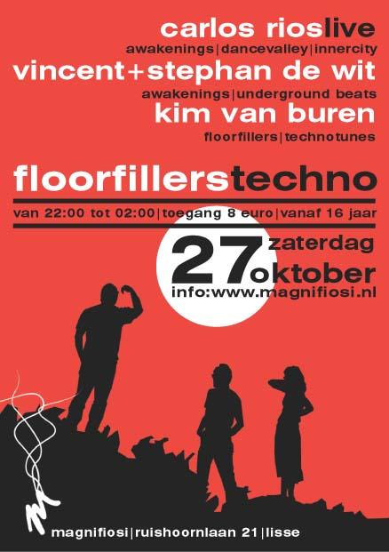 Floorfillers 27 Oktober 2007 Achterzijde