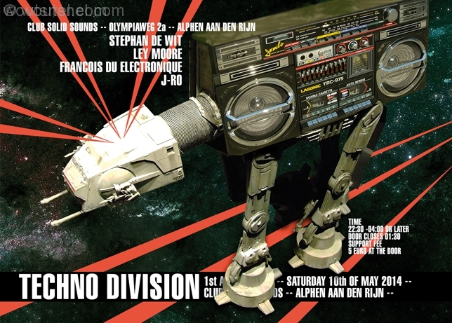Techno Division 10 Mei 2014 Voorzijde