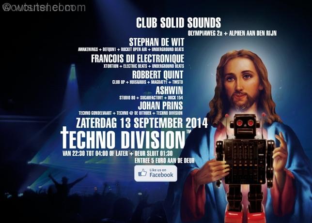 Techno Division 13 September 2014
