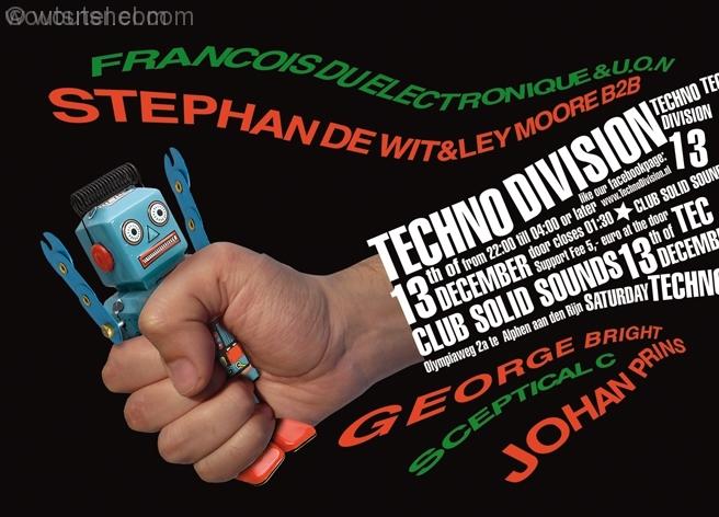 Techno Division 12 December 2014 Voorzijde