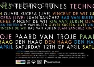 Techno Tunes 12 April 2008 Achterzijde