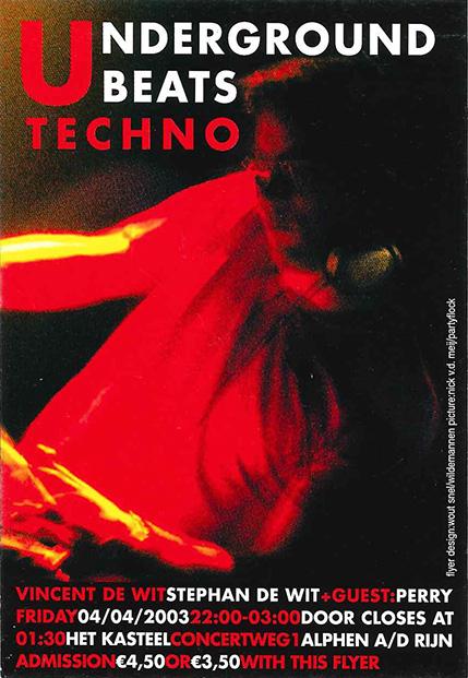 Underground Beats 4 April 2003 voorzijde