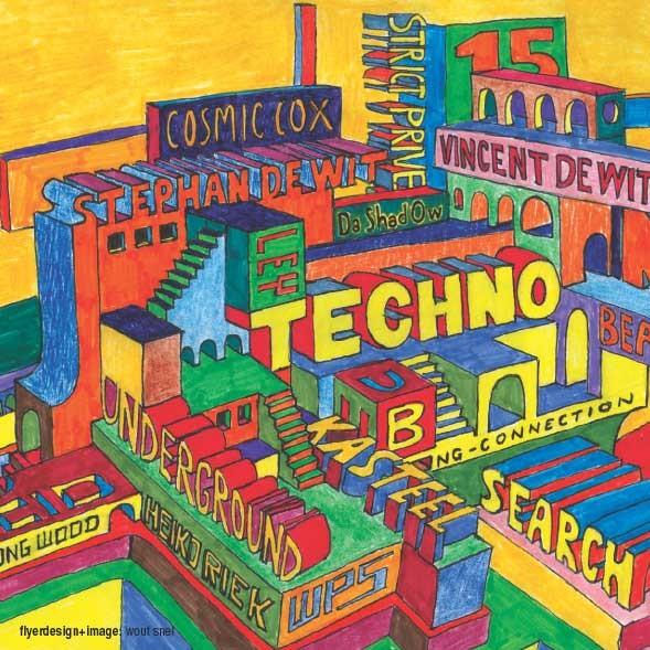 Underground Beats 15 December 2007 Voorzijde