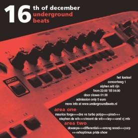 Underground Beats 16 December 2006 Voorzijde