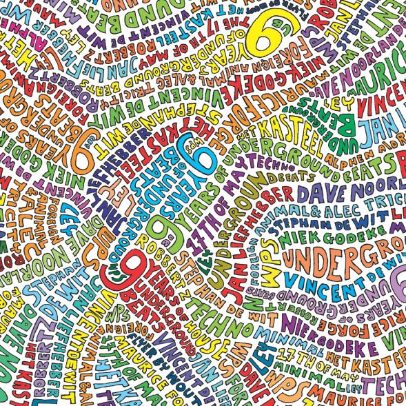 Underground Beats 17 Mei 2008 Voorzijde