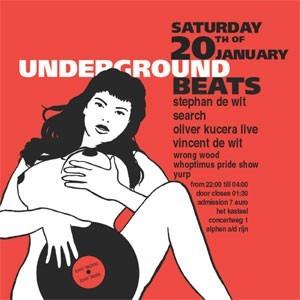 Underground Beats 20 Januari 2007 Voorzijde