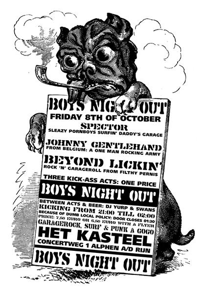 Boys Night Out 8 Oktober 2004