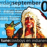 Easy Tune Cowboys en Indianen 6 september 2003 Achterzijde