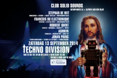 Techno Division 13 September 2014