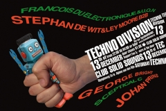Techno Division 12 December 2014 Voorzijde