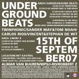Underground Beats 15 September 2007 Achterzijde