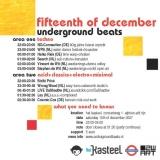 Underground Beats 15 December 2007 Achterzijde