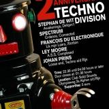 Techno Division 2 Mei 2015 Achterzijde