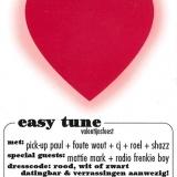 Easy Tune Valentijnsfeest 9 Februari 2008 achterzijde