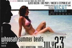 Whoosa Summer Beats 23 juli 2005