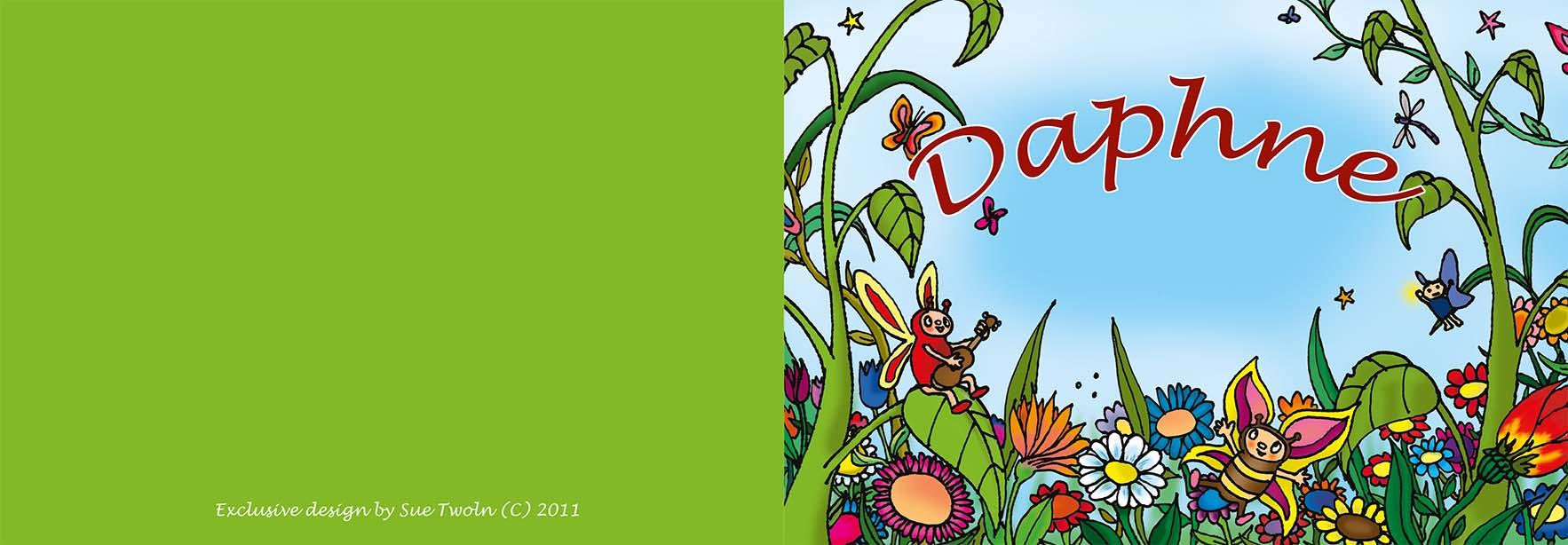 kaartje Daphne 2011 voorzijde