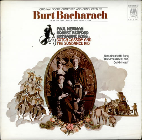 Butch Cassidy & the Sundance Kid – Burt Bacharach (soundtrack)