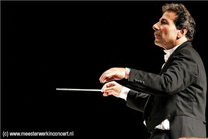 Jules van Hessen tijdens een ander concert